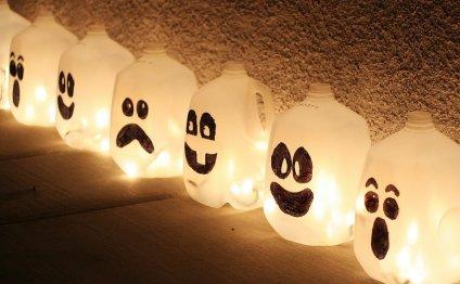 Halloween Ghost Jugs Halloween